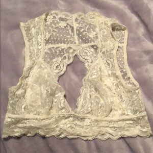 Like NEW Free People lace bralette